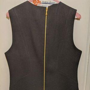 kate spade Dresses - Kate spade dress black sleeveless career gold tone